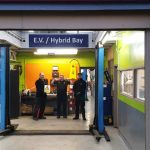 Electric Vehicle & Hybrid servicing bay